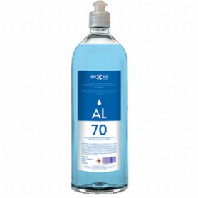 Gel hidroalcohólico - Bote de 1 litro - Piel sensible - Antalis,1