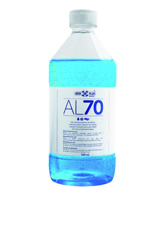Gel hidroalcohólico - Bote de 500 ml - Piel sensible - Antalis