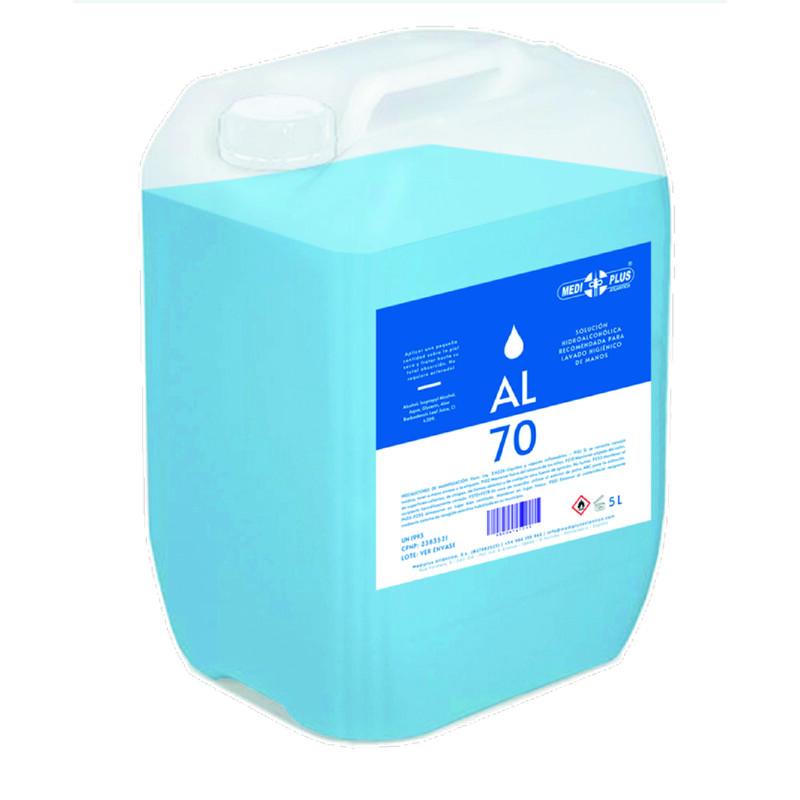 Gel hidroalcohólico - Bote de 5 litros - Piel sensible - Antalis