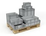Cajas de almacenamiento - Cajas de cartón, contenedores y palés