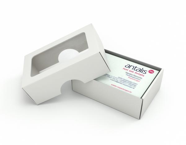 Cajas tarjeta de visita - Cajas de cartón